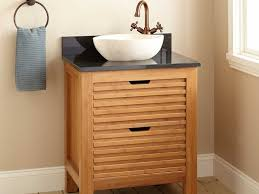 16 Inch Deep Bathroom Vanity Narrow Depth Vanity 12 Inch Small Modern Vessel Sink Vanity