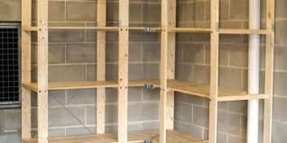 diy garage shelving units sturdy shelf plans u2013 venidami us
