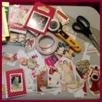 recycle your christmas cards craft making ideas