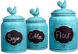 Pottery Kitchen Canisters Pottery Wall Pockets 3pc Canister Set Laurie Gates Designs La
