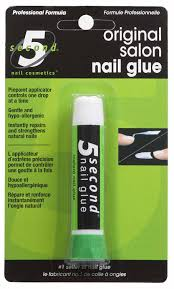 amazon com 5 second nail salon nail glue 2 gram beauty