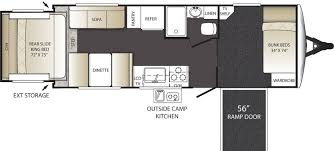Toy Hauler Floor Plans Top 5 Toy Haulers Travel Trailers Lakeshore Rv