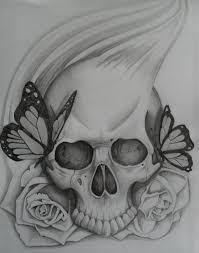 skull skull tatting and drawings