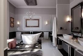 Large Bathroom Ideas Large Bathroom With Elegant Design Feat Luxury White Freestanding