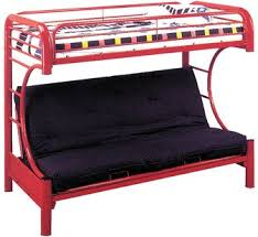 Wildon Home  Twin Over Full Futon Bunk Bed  Reviews Wayfair - Full futon bunk bed