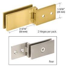 eh84 crl polished chrome light duty frameless shower door hinge