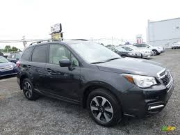 subaru forester 2017 interior 2017 dark gray metallic subaru forester 2 5i premium 114595061