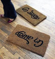 Geek Doormat Knock Knock Who U0027s There 20 Hilarious Welcome Mats Brit Co