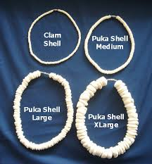 men shell necklace images Puka shell necklaces hula supply center jpg