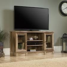 Tv Stands Furniture Amazon Com Sauder Regent Place Tv Stand In Craftsman Oak Kitchen