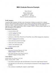 Mba Graduate Resume Examples by Resume Examples Mba Resume Template Sample Harvard Word Pdf