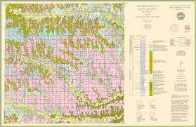 Kansas Counties Map Kgs Geologic Map Ellis Large Size