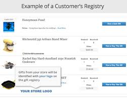 wedding registry online myregistry ecommerce gift registry features for your store