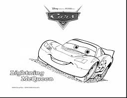 spectacular mcqueen cars coloring pages with lighting mcqueen