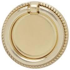 Brass Ring Pulls Cabinet Hardware by Hafele Cabinet Hardware 1 1 2