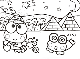 sanrio coloring pages kawaii coloring pages bestofcoloring com