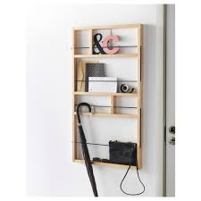 ypperlig wall shelf birch 54x100 cm decorative storage birch
