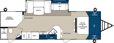 Forest River Travel Trailers Floor Plans Forest River Surveyor For Sale In Louisiana