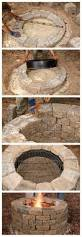 Nice Backyard Ideas by How To Build Your Own Fire Pit Nice Backyard And Yards