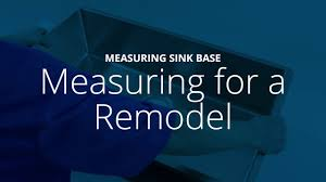 How To Measure For A Kitchen Sink by How To Measure A Sink Base For Elkay Installation Youtube