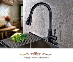 rubbed bronze pull kitchen faucet pull out kitchen faucet rubbed bronze pull sink faucet