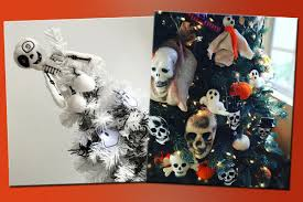 halloween christmas trees are a thing now and we u0027re all for it