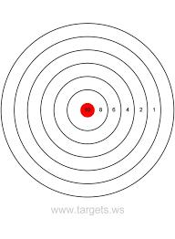 254 targets printable images shooting