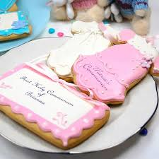communion cookies christening and baptism cookies personalized communion cookies