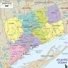 Map North East Usa by Map Of Connecticut Usa
