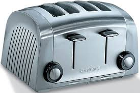 Cuisinart Toaster 4 Slice Stainless Cuisinart Toaster 4 Slice With Two Toasting Settings