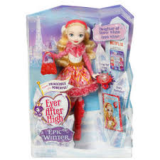 after high apple white doll after high epic winter apple white doll toys