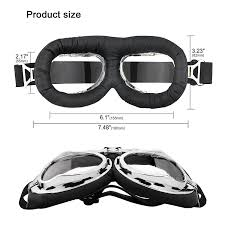 colorful lenses classic scooter motocross amazon com vintage motorcycle goggles anti uv adjustable