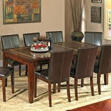 slate dining table set slate dining room table silver davenport 7 piece slate dining table