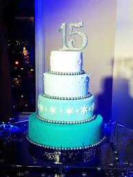 sweet 15 winter wonderland cake nana s cakes pinterest