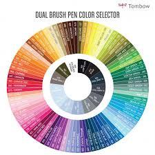 dual brush pen