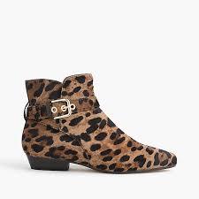 boots hair buckle boots in calf hair women boots j crew