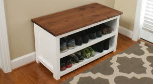 Bench With Shoe Storage Diy Adjustable Shoe Storage Bench Fixthisbuildthat