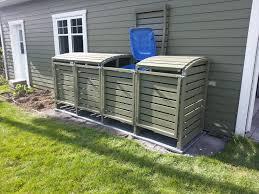 fabriquer cache poubelle meubles de patio rc