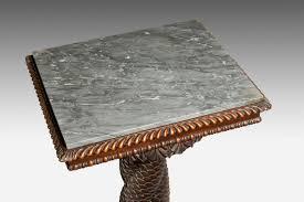 dolphin coffee tables regency carved mahogany dolphin table