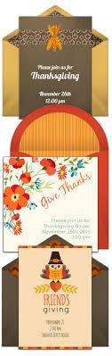 thanksgiving invitations happy thanksgiving