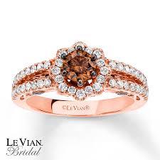 chocolate wedding rings levian chocolate diamonds 1 1 8 ct tw 14k gold engagement ring