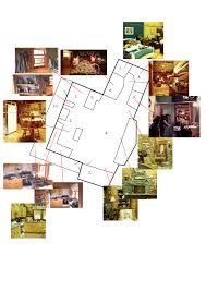 sitcom house floor plans tv show house floor plan top sketch of the heartland ranch from