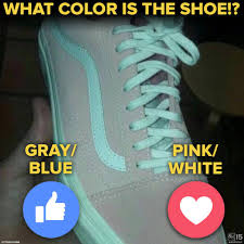 Gray Blue Color - pink or gray new viral debacle over shoe u0027s color abc15 arizona