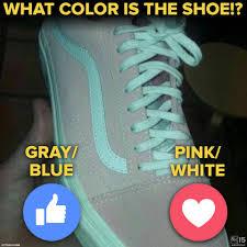 pink or gray new viral debacle over shoe u0027s color abc15 arizona