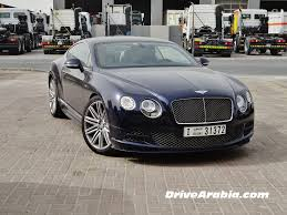 bentley price 2016 bentley continental gt drive arabia