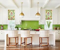kitchen backsplash colors add color to white kitchen kitchen and decor