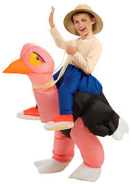 inflatable costume for kids ostrich inflatable costume