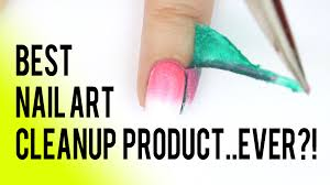 liquid latex nail hack best nail art cleanup product ever
