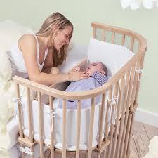 amazon com babybay bedside sleeper untreated finish baby