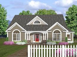 porch house plans with front one level simple french country and
